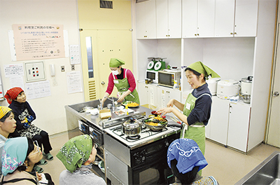 エコな料理教室