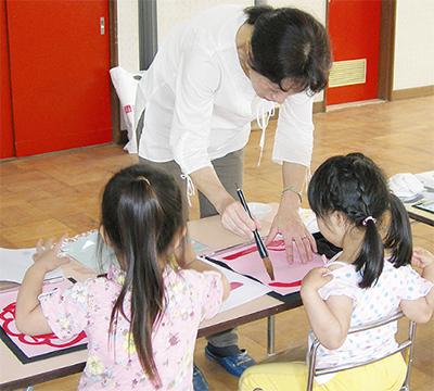 水書道で文字教育