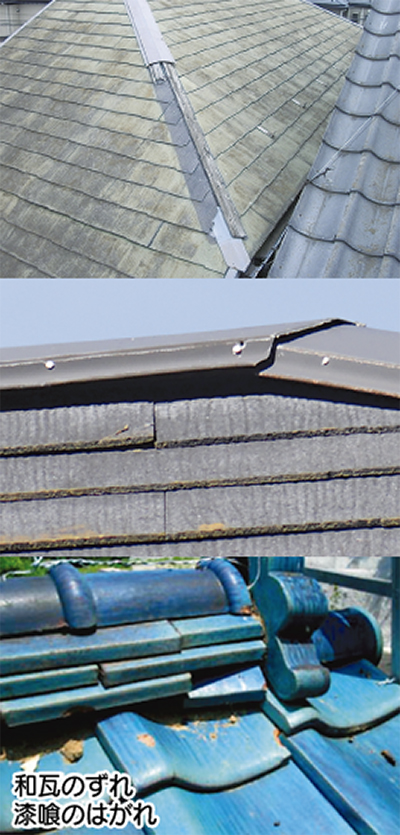 屋根等の修理が無料