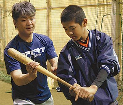 安西健二さんが「野球塾」