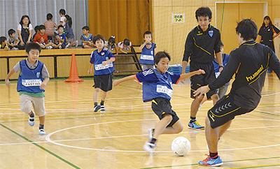 「横浜FCと遊ぼう」
