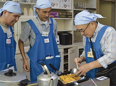 「男性だけ」の料理教室