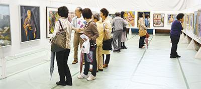 瀬谷区美術展が20周年