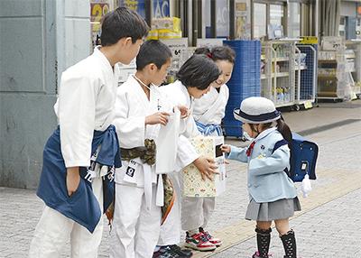 熊本地震へ募金呼びかけ