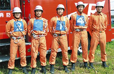 消防技術訓練で県へ