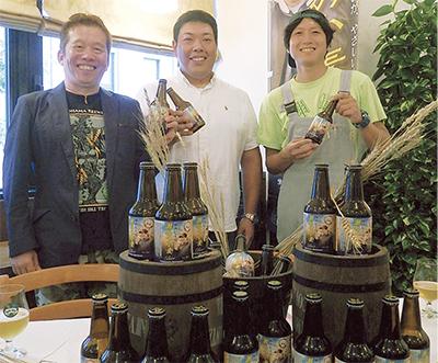 瀬谷産小麦のビール販売