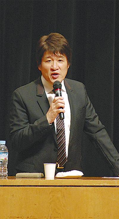 林修さん、中区で講演