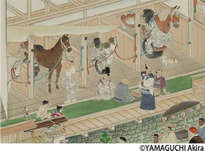 馬の美術品150点展示