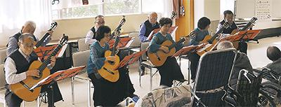 福祉施設に音楽届ける