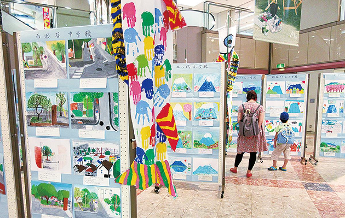 児童が描く瀬谷の風景