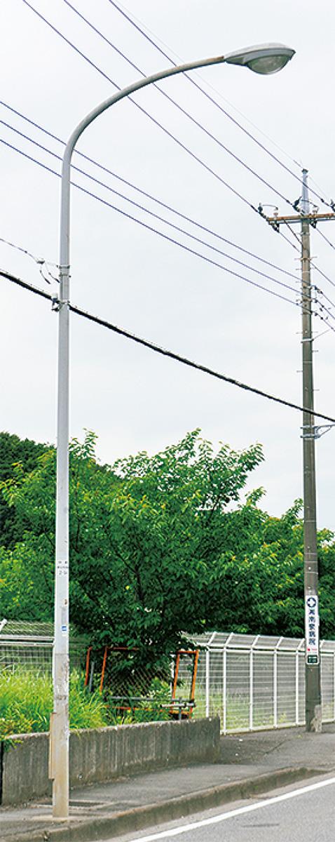 道路水銀灯をLED化