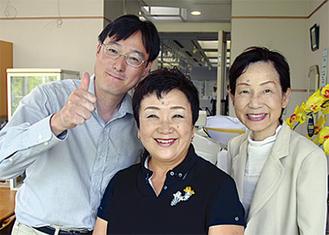 左から内藤さん、伊藤さん、久保田さん