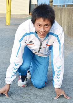 日本人初の9秒台を目指す雲井君