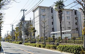 一人暮らし高齢者が多い上飯田団地