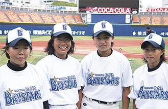 左から加藤さん、佐藤さん、大塚さん、谷口さん