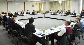 30団体による推進会議(泉区役所)