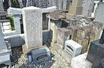 中田出身で江戸時代の力士、戸田川の墓がある