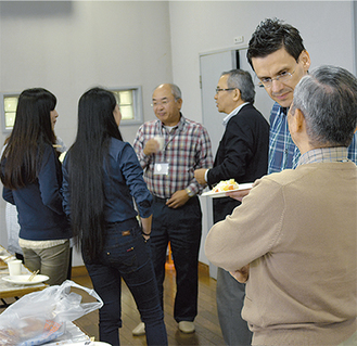 フェリス留学生歓迎会(10月25日・緑園クラブハウス)