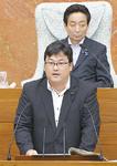 県議会一般質問に登壇