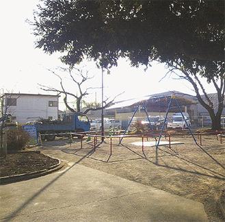 全体改修中の中田広町公園