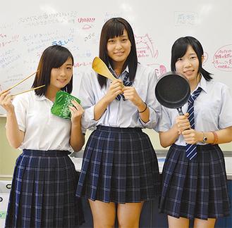 (左から)駒場さん、小井戸さん、栗原さん