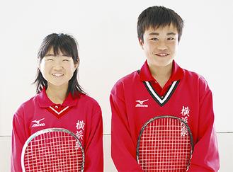 伊藤彩里さん(左)と高崎陽佑さん