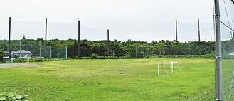 緑園東小となりに広がる学校予定地