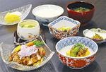 食堂の料理の一例(9月7日の夕食)