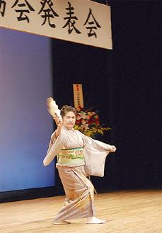 特別出演の舞踊