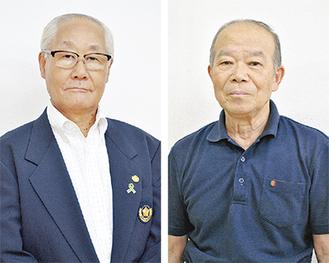(左から)斉木仁郎さんと石井正禮さん