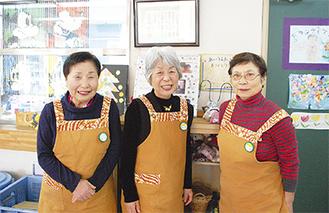 (左から)泉澤さん、笹岡さん、小池さん