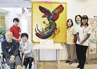 折鶴の「鳳凰」完成