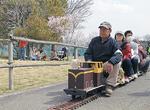 大人気のミニ電車