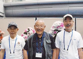 横浜さつき会の会員たち