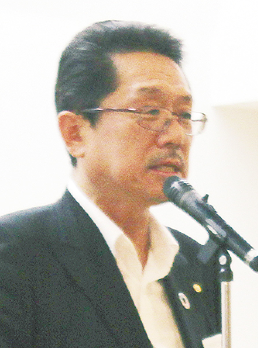 登壇した黒田会長