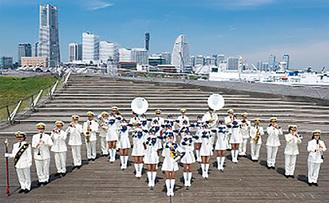 昨年創設60周年を迎えた横浜市消防音楽隊が出演