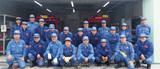 上飯田に新たな消防器具置場