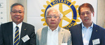 (左から)高梨会長、井上幹事、坂本副幹事