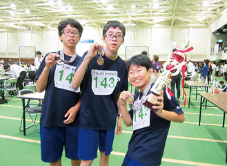 「Team018」の3人