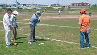 グラウンド・ゴルフに挑戦