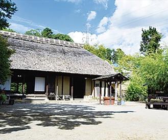 街歩きで訪れる長屋門公園