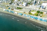 片瀬西浜・鵠沼海水浴場(2018年8月)