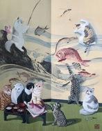 動物絵画の新作個展
