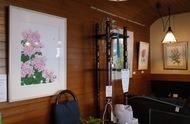 泉区新橋町在住の中村さんが5度目の個展