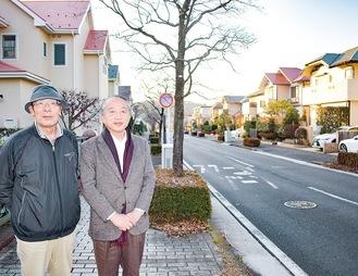 右からRCAの見瀬理事長、菅野副理事長