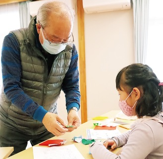 折紙師範の永田さん
