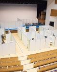 設営が完了した泉公会堂