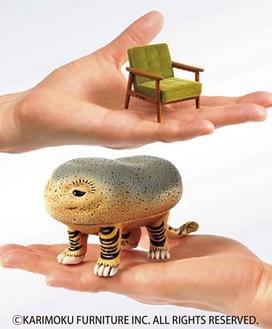 ミニチュアやソフビの人形(展示イメージ)
