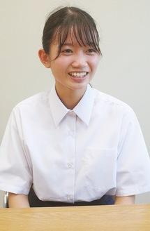 笑顔の小川さん