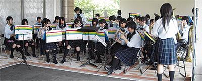合唱部・吹奏楽部の訪問